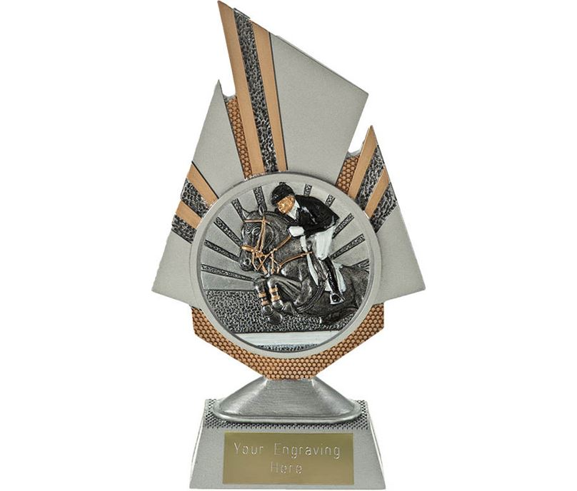 "Shard Show Jumping Trophy 19.5cm (7.75"")"
