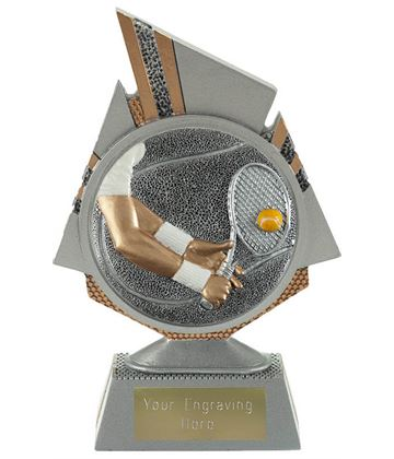 "Shard Tennis Trophy 15cm (6"")"