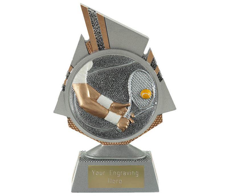 "Shard Tennis Trophy 15cm (6"")"