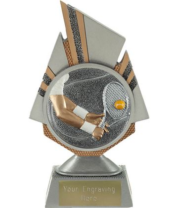 "Shard Tennis Trophy 17.5cm (6.75"")"