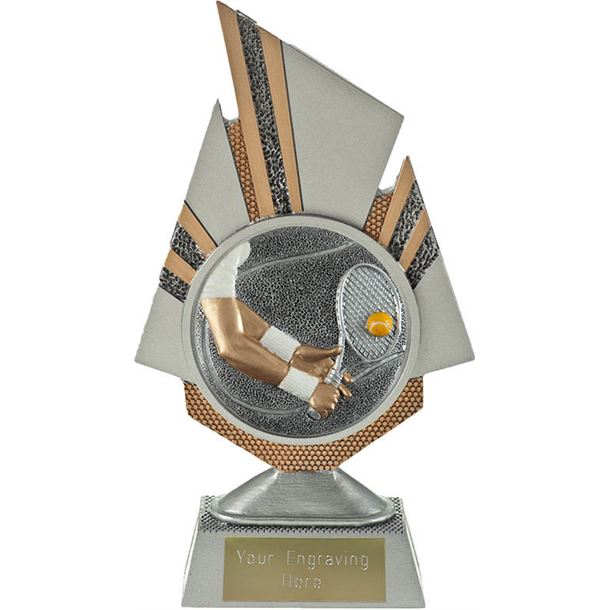 "Shard Tennis Trophy 19.5cm (7.75"")"