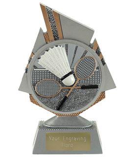 "Shard Badminton Trophy 15cm (6"")"