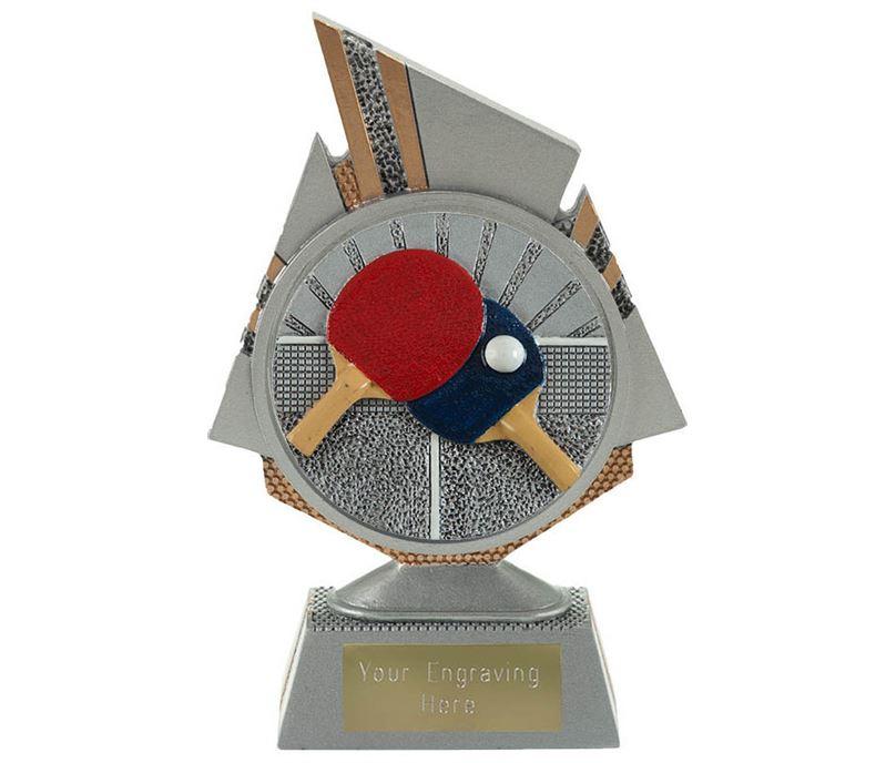 "Shard Table Tennis Trophy 15cm (6"")"