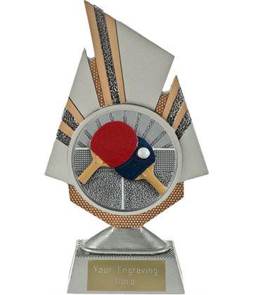 "Shard Table Tennis Trophy 19.5cm (7.75"")"