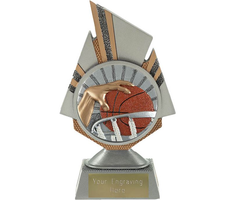 "Shard Basketball Trophy 17.5cm (6.75"")"