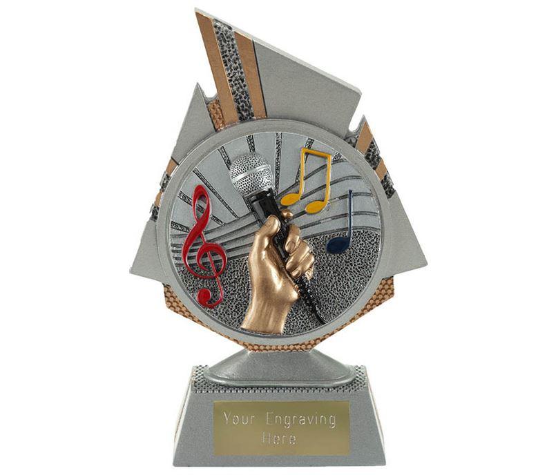 "Shard Music Trophy 15cm (6"")"