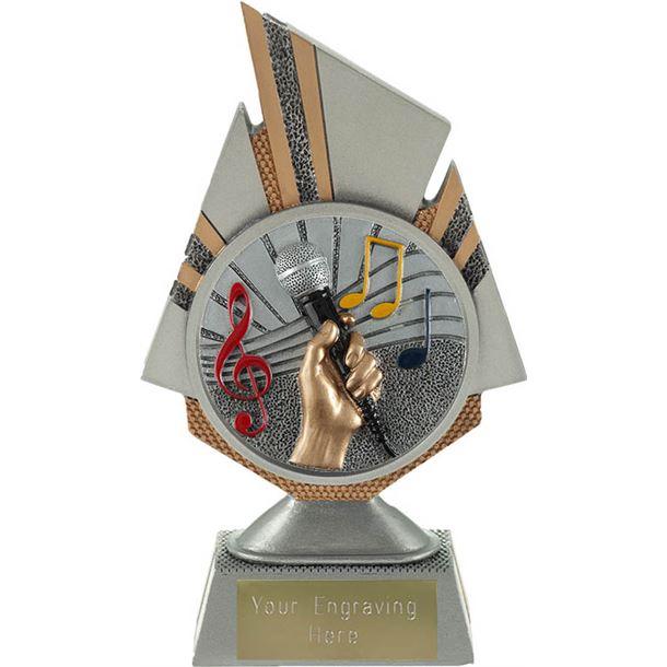 "Shard Music Trophy 17.5cm (6.75"")"