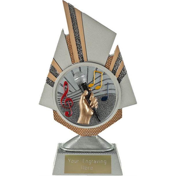 "Shard Music Trophy 19.5cm (7.75"")"