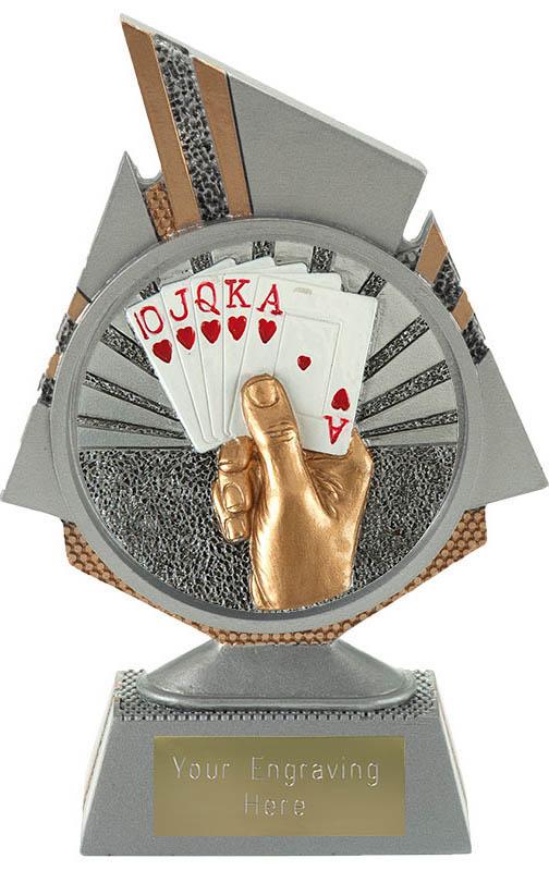 """Shard Cards Trophy 15cm (6"""")"""