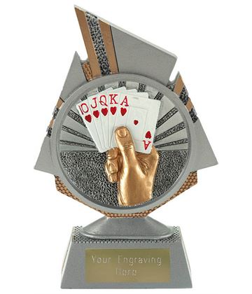 "Shard Cards Trophy 15cm (6"")"