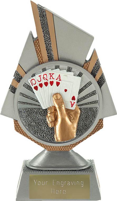 """Shard Cards Trophy 17.5cm (6.75"""")"""