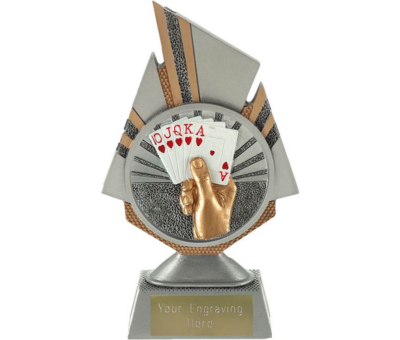 "Shard Cards Trophy 17.5cm (6.75"")"