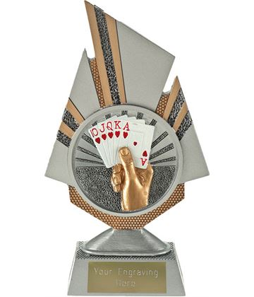 "Shard Cards Trophy 19.5cm (7.75"")"