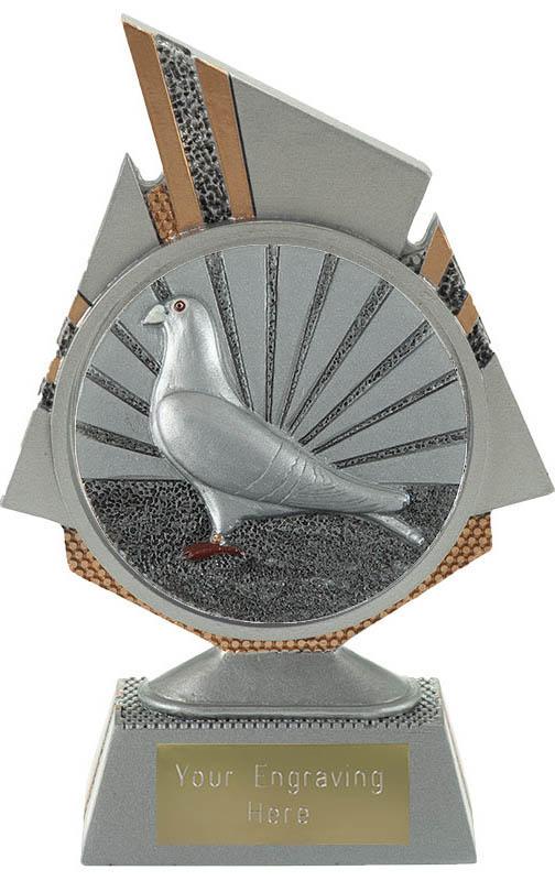"Shard Pigeon Racing Trophy 15cm (6"")"