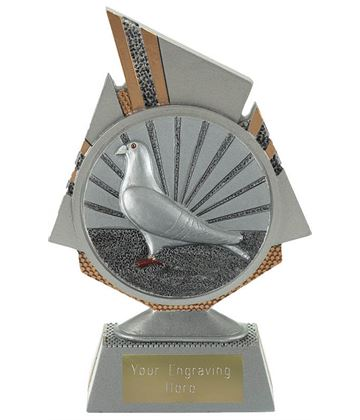 "Shard Pigeon Racing Trophy 15cm (6"")"