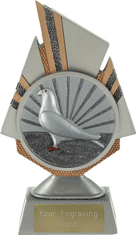 "Shard Pigeon Racing Trophy 17.5cm (6.75"")"