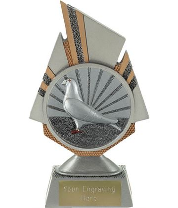 "Shard Pigeon Racing Trophy 17.5cm (6.75"")"