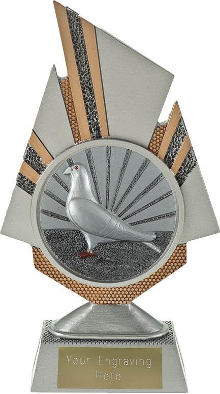 "Shard Pigeon Racing Trophy 19.5cm (7.75"")"