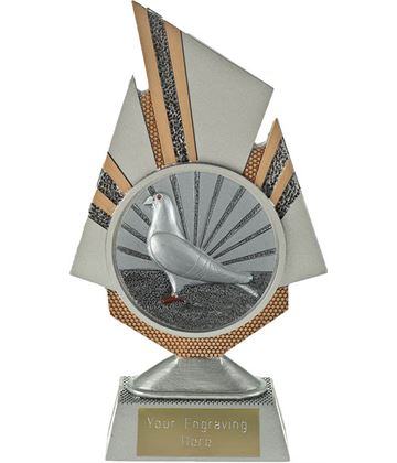 "Shard Pigeon Racing Trophy 19.5cm (7.75"")"