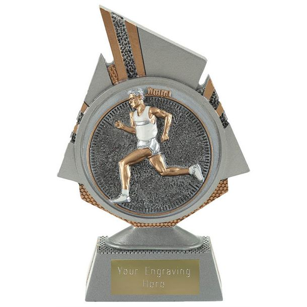 "Shard Male Running Trophy 15cm (6"")"