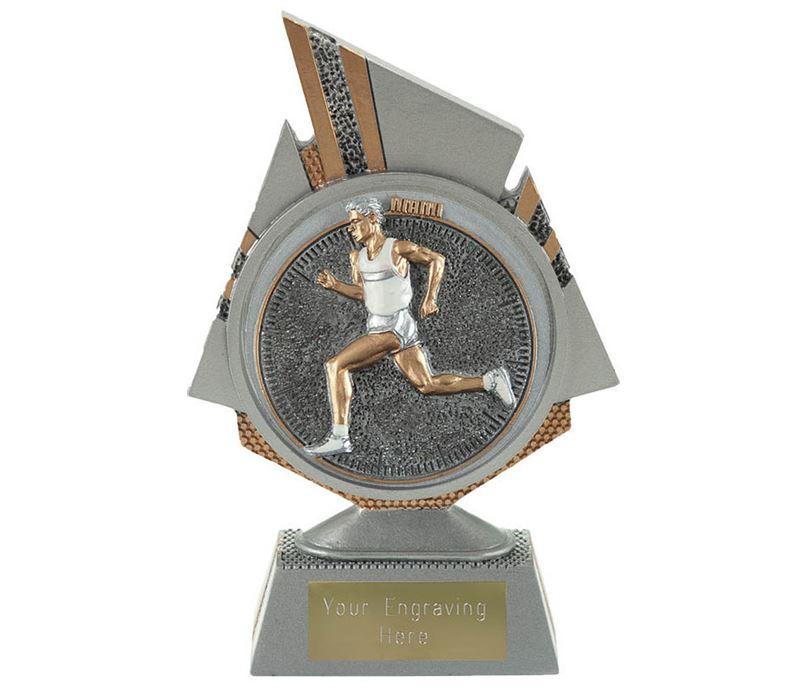"Shard Male Running Trophy 15cm (6"")"