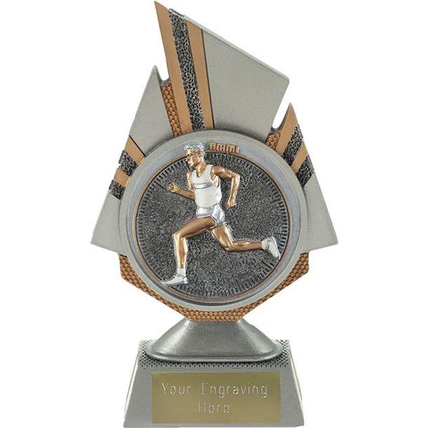 "Shard Male Running Trophy 17.5cm (6.75"")"