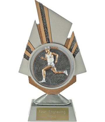 "Shard Male Running Trophy 19.5cm (7.75"")"