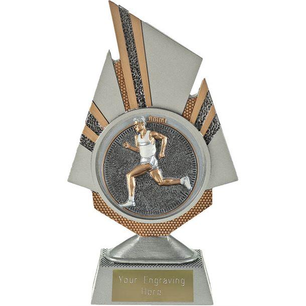 "Shard Male Running Trophy 19.5cm (7.75"")"