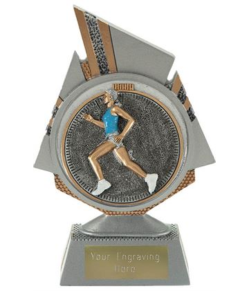 "Shard Female Running Trophy 15cm (6"")"