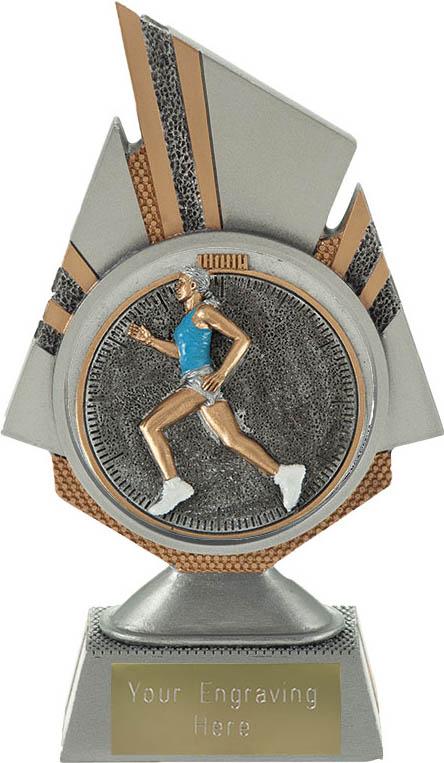 "Shard Female Running Trophy 17.5cm (6.75"")"