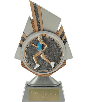 "Shard Female Running Trophy 17.5cm (6.75"")"