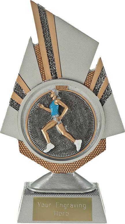 "Shard Female Running Trophy 19.5cm (7.75"")"