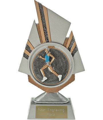 "Shard Female Running Trophy 19.5cm (7.75"")"