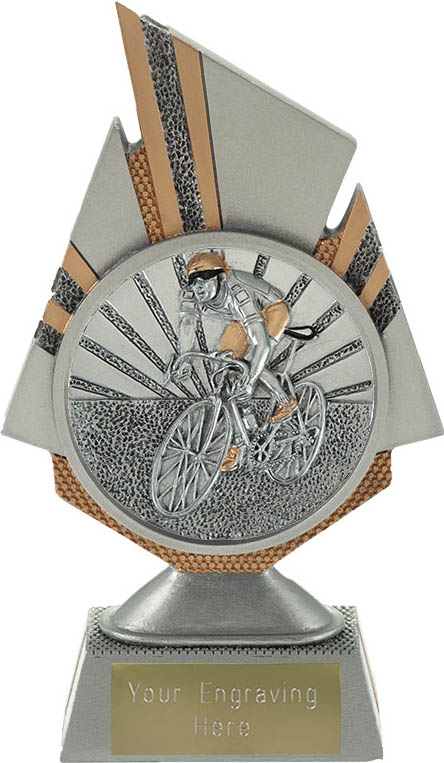 "Shard Cycling Trophy 17.5cm (6.75"")"