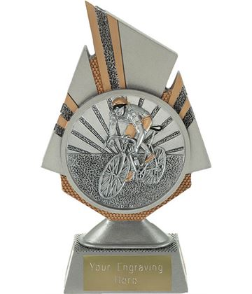 "Shard Cycling Trophy 17.5cm (6.75"")"