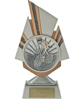 "Shard Cycling Trophy 19.5cm (7.75"")"