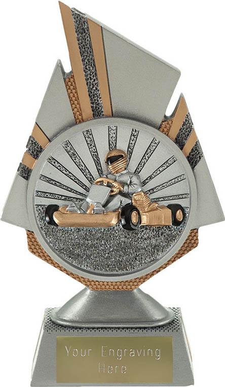 """Shard Go Karting Trophy 17.5cm (6.75"""")"""