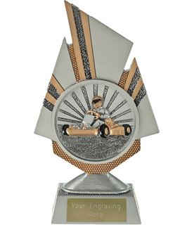 "Shard Go Karting Trophy 19.5cm (7.75"")"