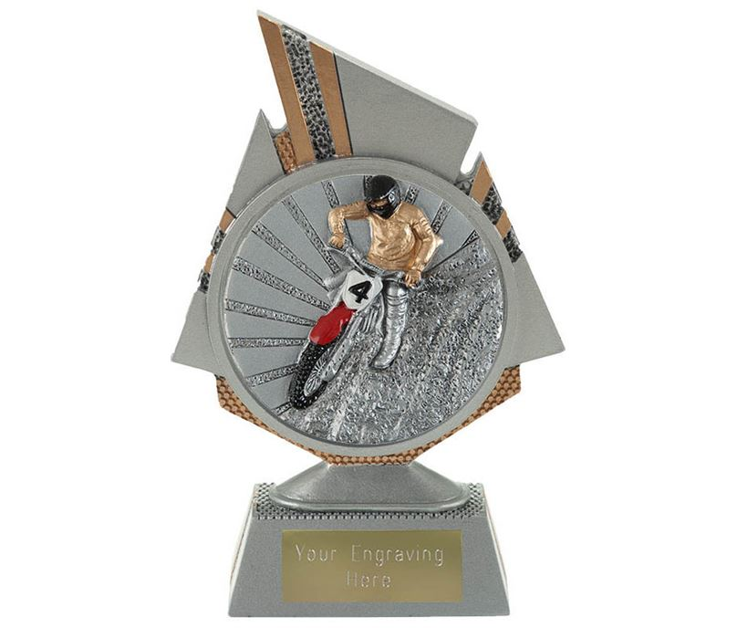 "Shard Motocross Trophy 15cm (6"")"