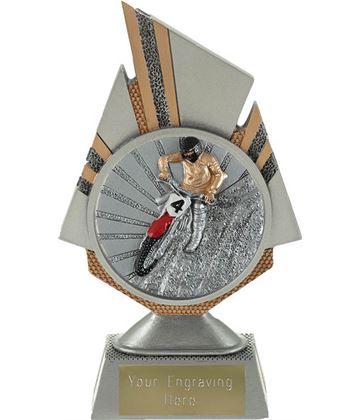 "Shard Motocross Trophy 17.5cm (6.75"")"
