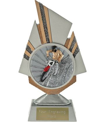 "Shard Motocross Trophy 19.5cm (7.75"")"