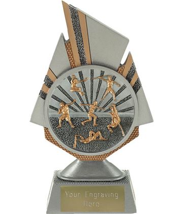 "Shard Track and Field Trophy 17.5cm (6.75"")"