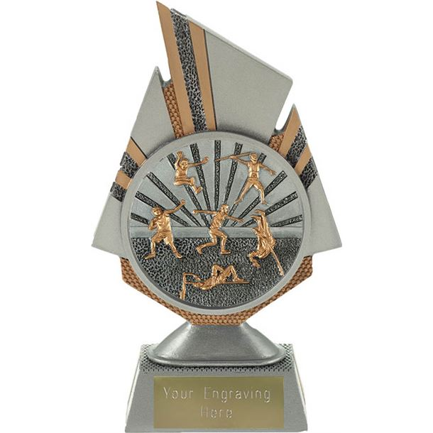 """Shard Track and Field Trophy 17.5cm (6.75"""")"""