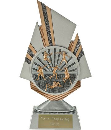 "Shard Track and Field Trophy 19.5cm (7.75"")"