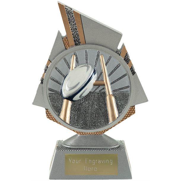 "Shard Rugby Trophy 15cm (6"")"