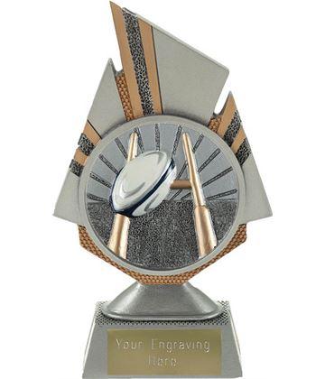 "Shard Rugby Trophy 17.5cm (6.75"")"