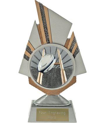 "Shard Rugby Trophy 19.5cm (7.75"")"