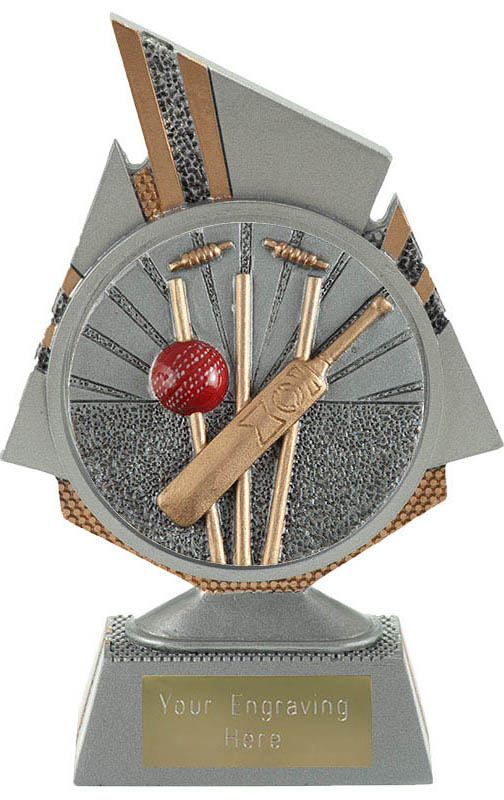 "Shard Cricket Trophy 15cm (6"")"