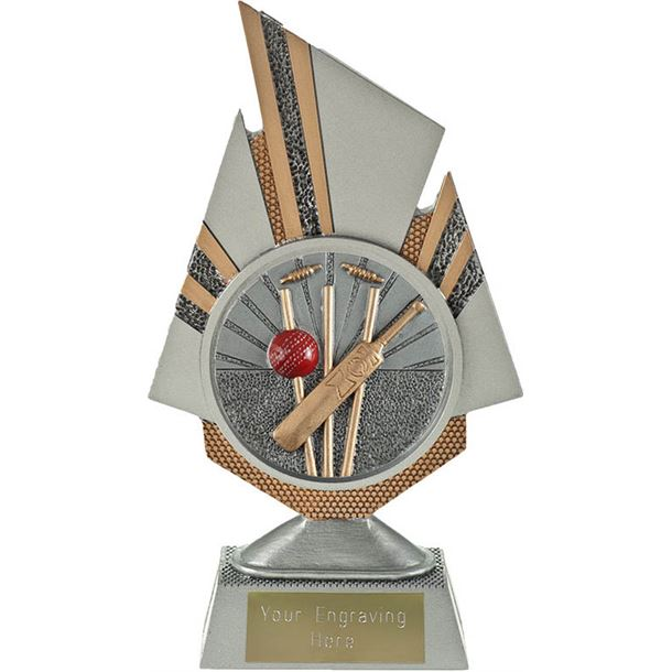 "Shard Cricket Trophy 19.5cm (7.75"")"