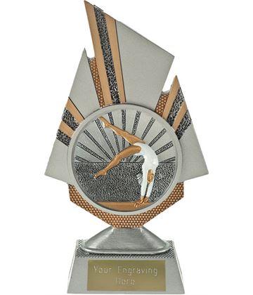 """Shard Female Gymnastics Trophy 19.5cm (7.75"""")"""